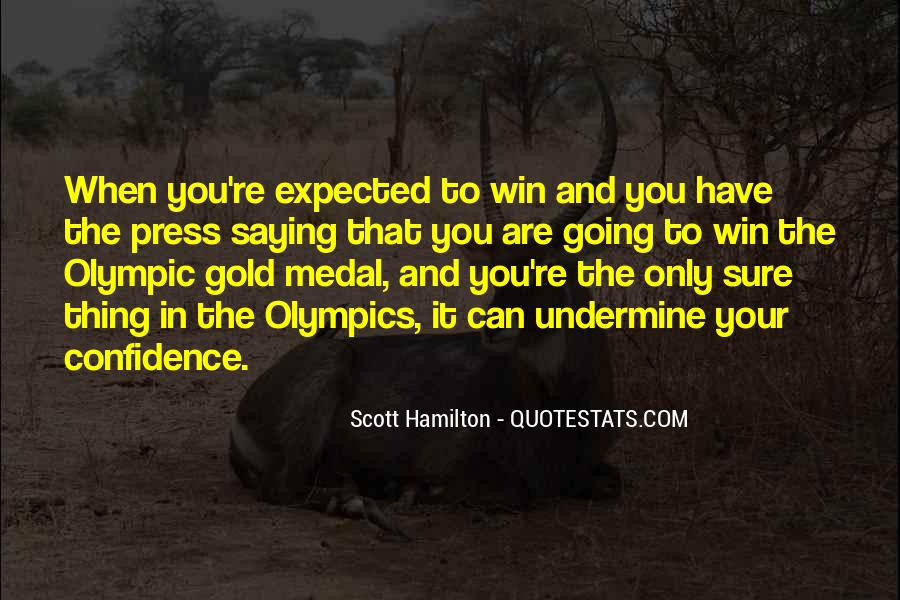 Quotes About Gold Medal #970734