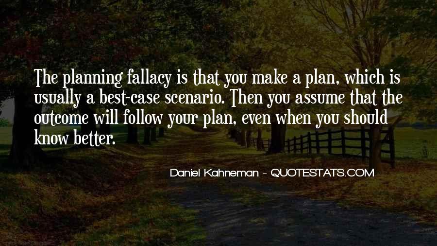 Quotes About Scenario Planning #1537055