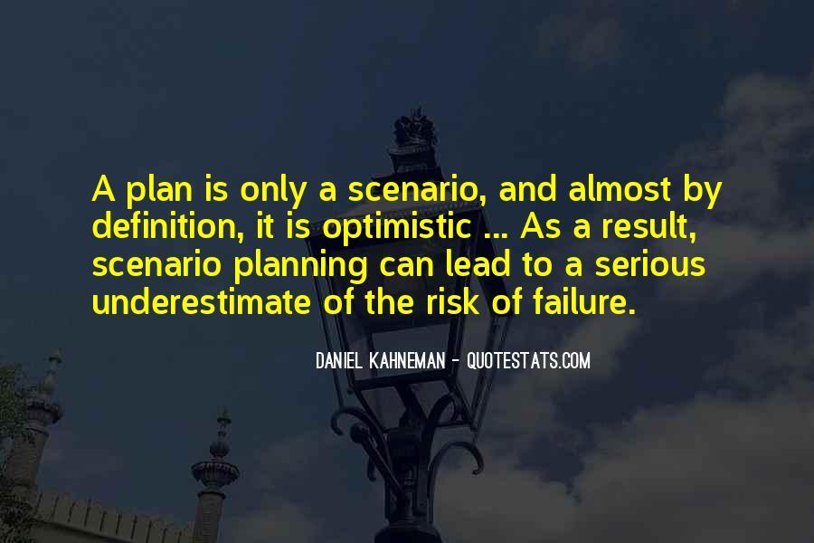 Quotes About Scenario Planning #243650