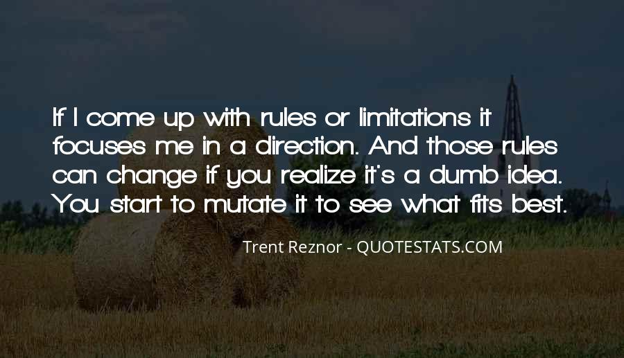 Quotes About Rules And Limitations #158767