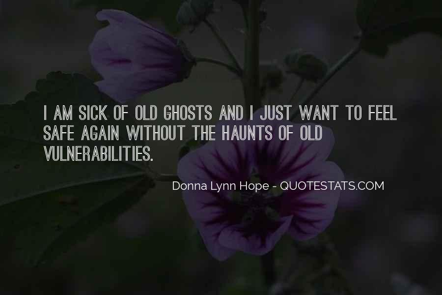 Quotes About Hope For The Sick #1021335