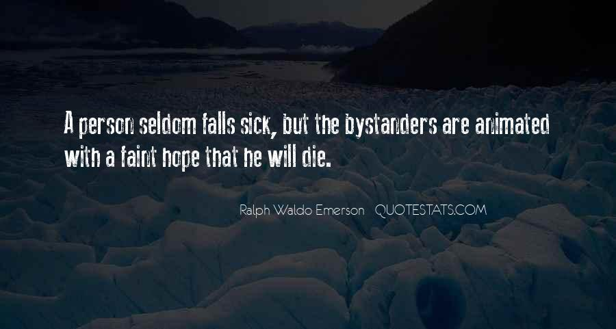 Quotes About Hope For The Sick #1341999