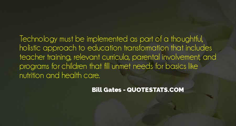 Quotes About Holistic Approach #1858239