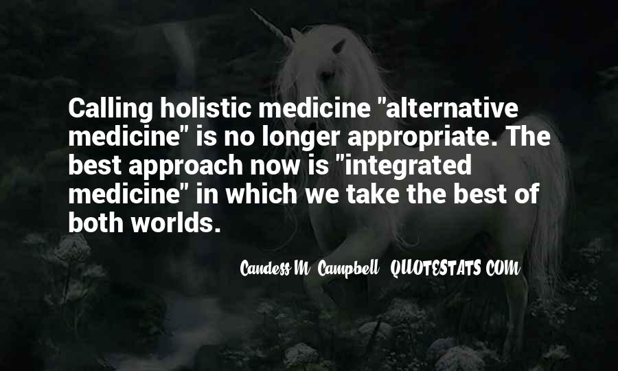 Quotes About Holistic Approach #634284
