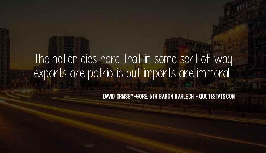 Quotes About Imports #1180021