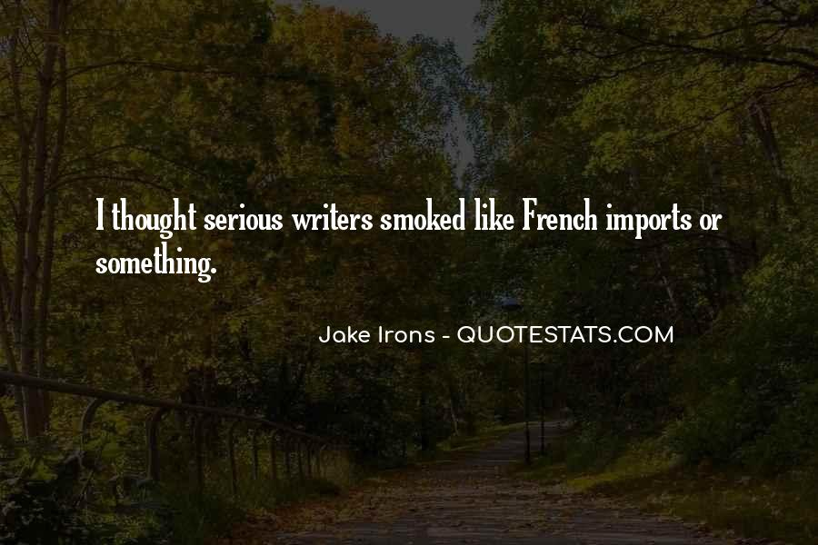 Quotes About Imports #132869