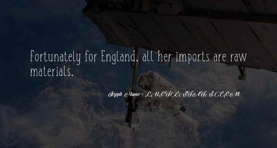 Quotes About Imports #1497499