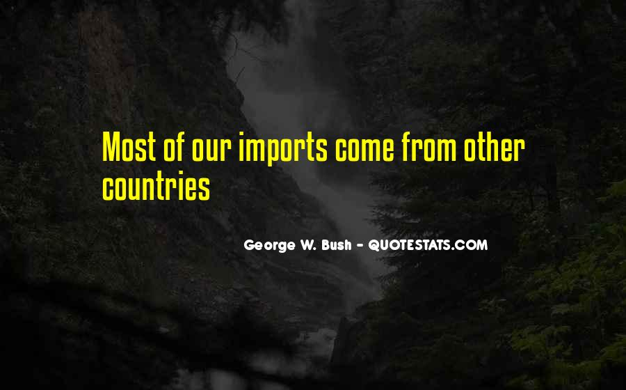 Quotes About Imports #601032