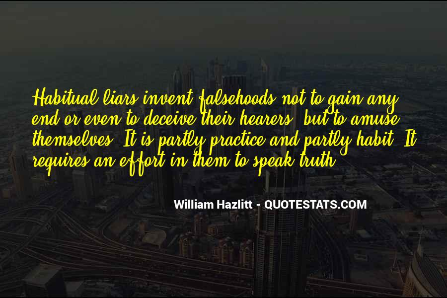 Quotes About Habitual Liars #151127