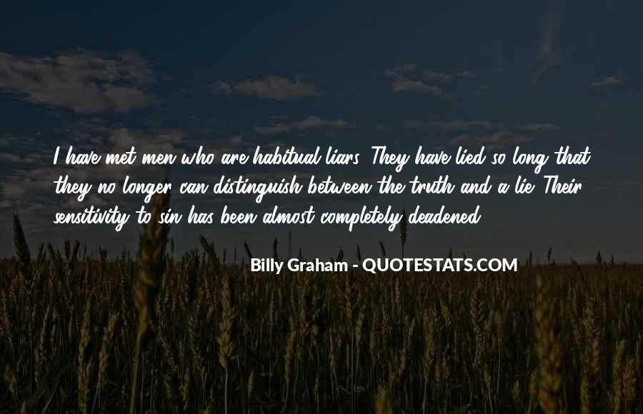 Quotes About Habitual Liars #1799364