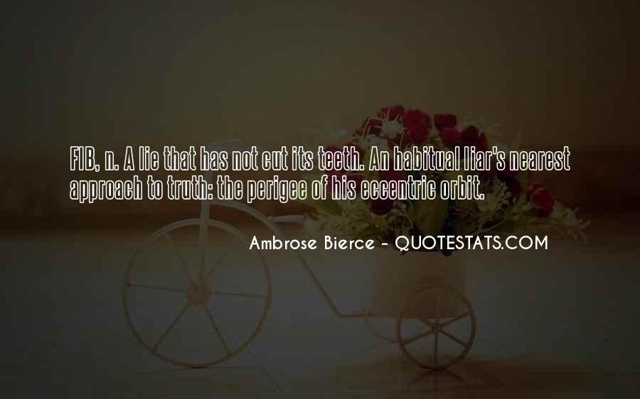 Quotes About Habitual Liars #1867076