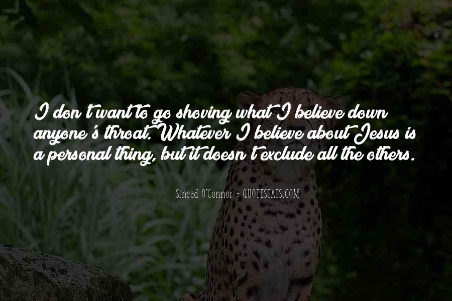 Quotes About Shoving It #1767326