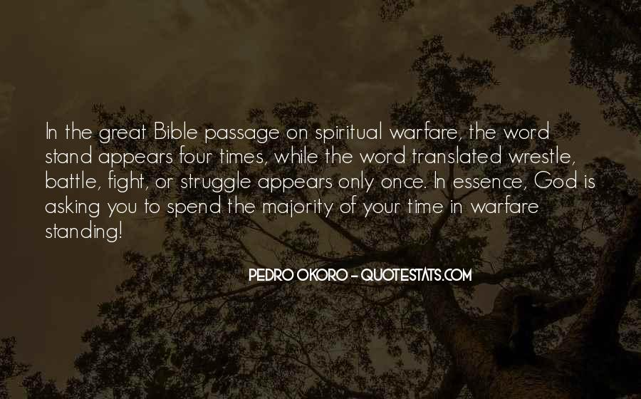 Quotes About Struggle In The Bible #1400705