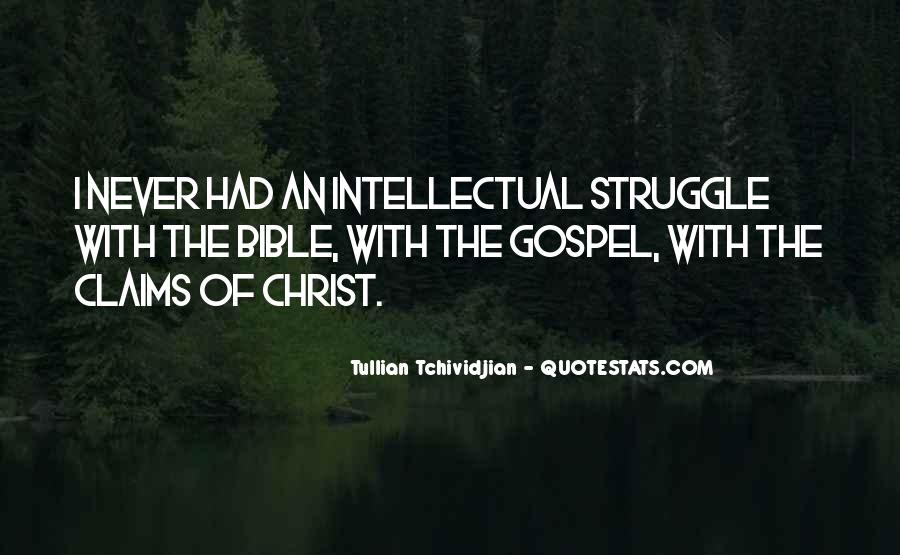 Quotes About Struggle In The Bible #246763