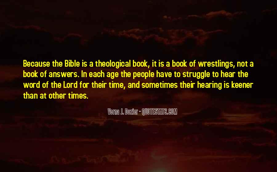 Quotes About Struggle In The Bible #891516