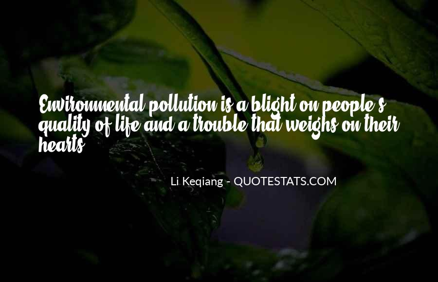 Quotes About Blight #1428797