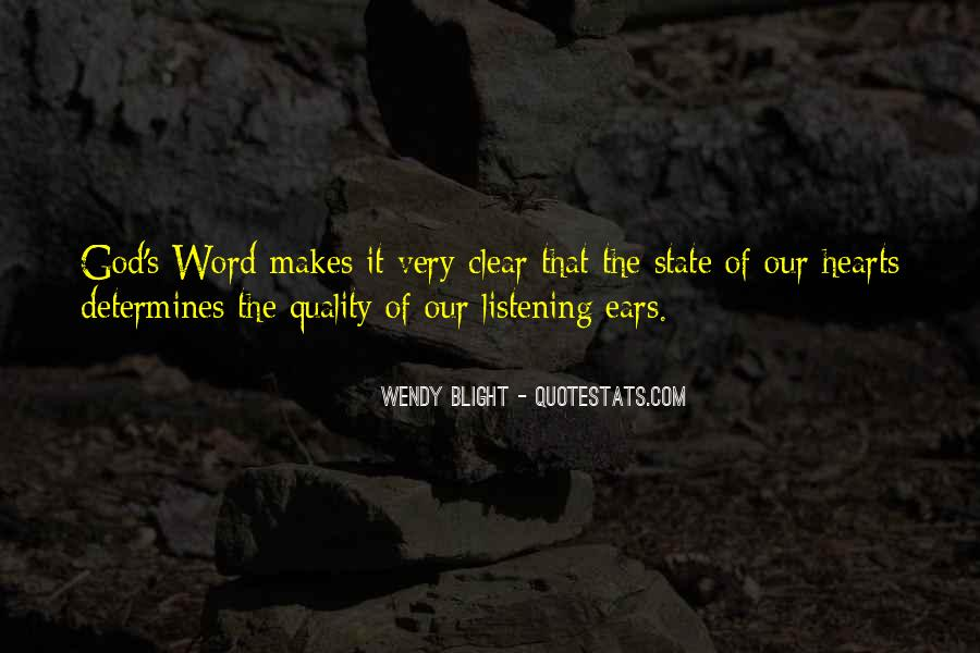 Quotes About Blight #694358