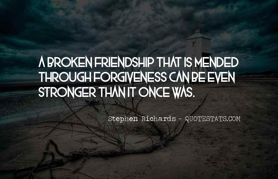 Quotes About Broken Love And Moving On #1508351