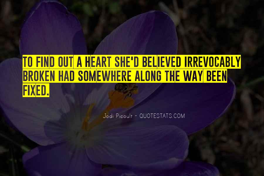 Quotes About Broken Love And Moving On #671028