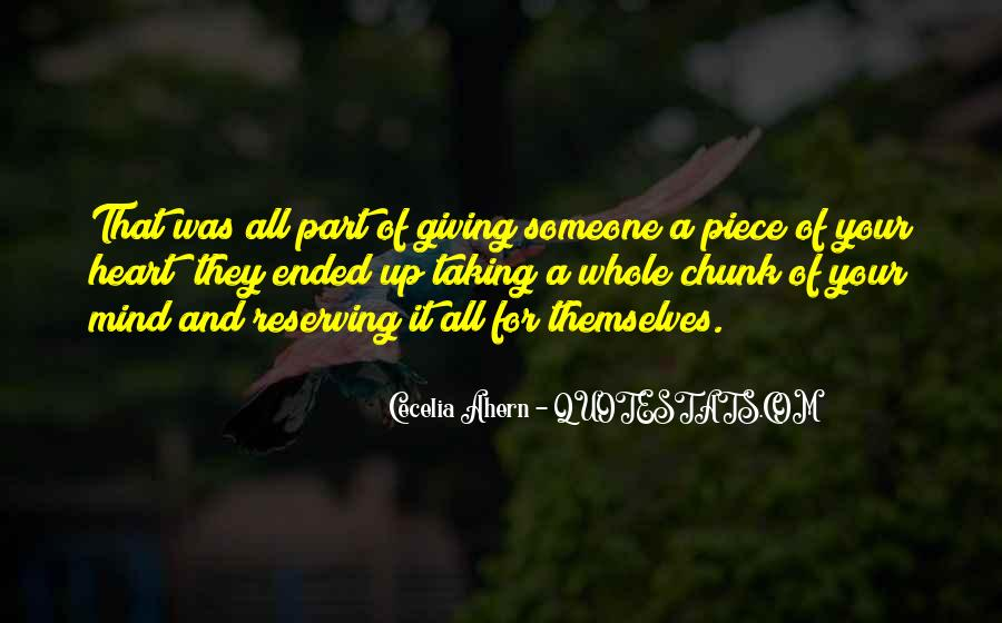 Quotes About Giving Someone Your All #1840787