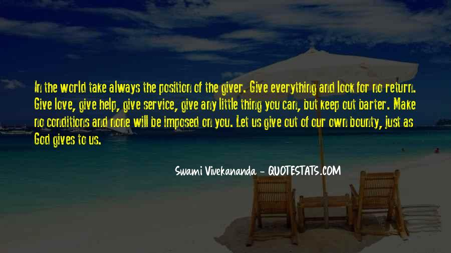 Quotes About Giving Someone Your All #809