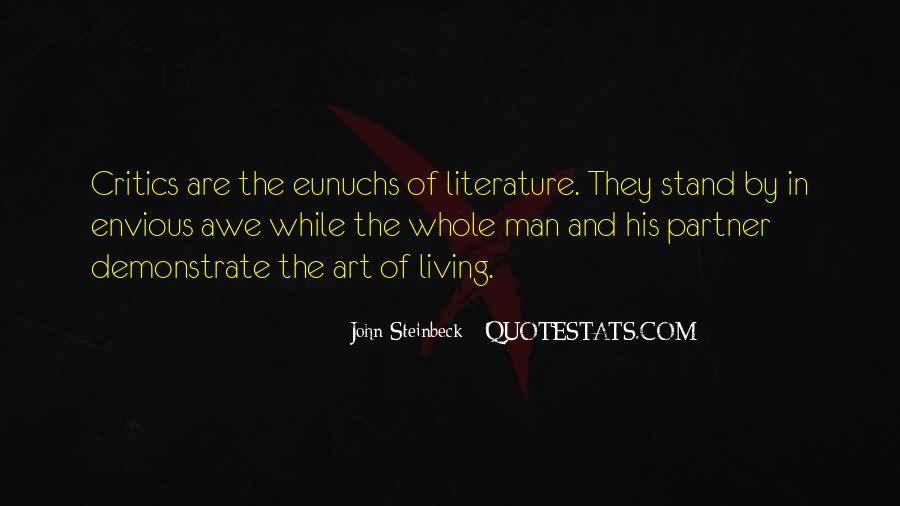 Quotes About Eunuchs #1067274