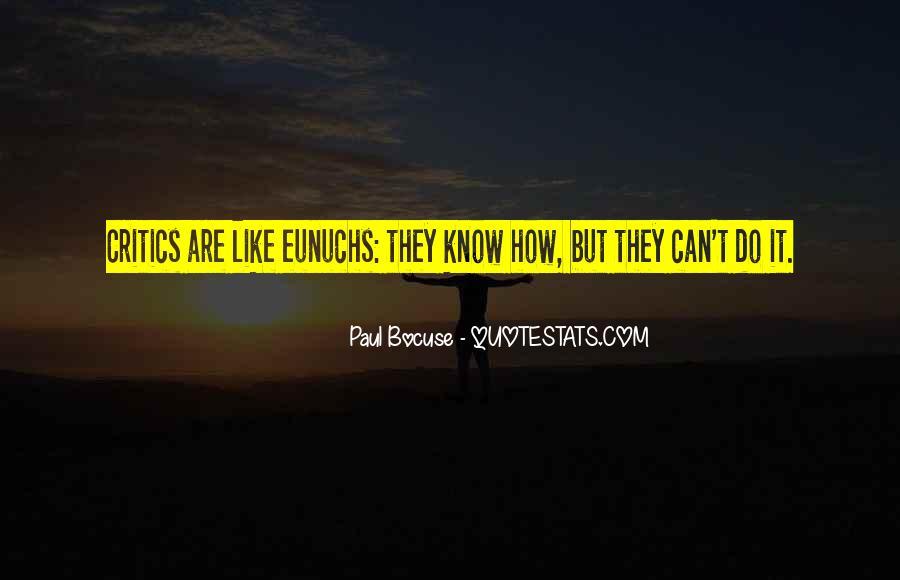 Quotes About Eunuchs #1359430