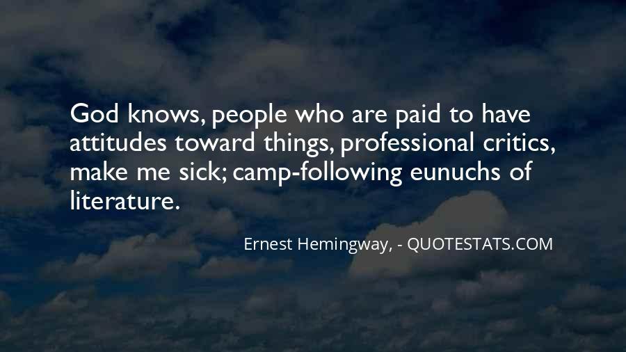 Quotes About Eunuchs #1371823
