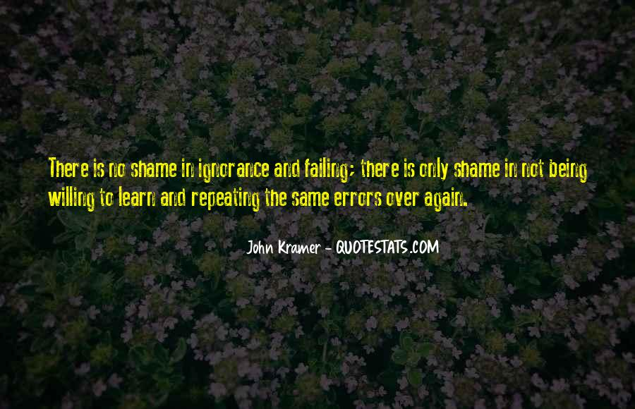 Quotes About Mistakes And Errors #1658337