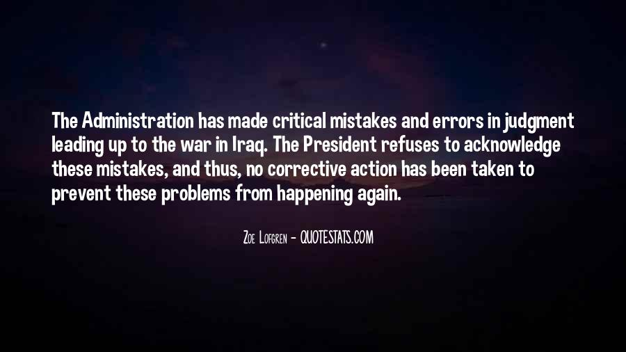 Quotes About Mistakes And Errors #47108