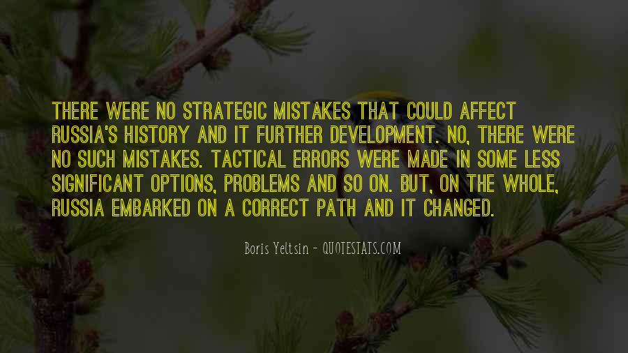 Quotes About Mistakes And Errors #677969