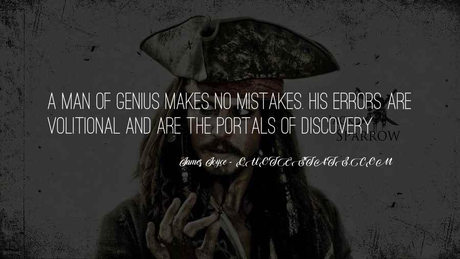 Quotes About Mistakes And Errors #931588