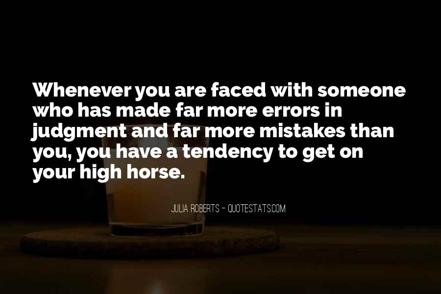 Quotes About Mistakes And Errors #968260