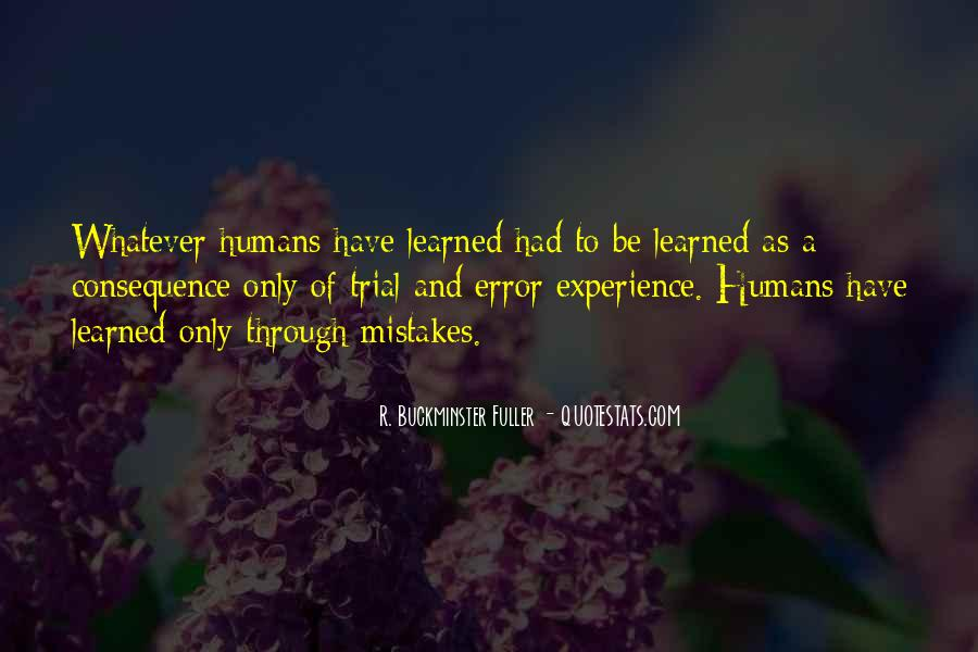 Quotes About Mistakes And Errors #998757