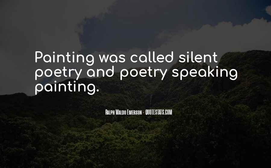 Quotes About Speaking And Silence #1046485