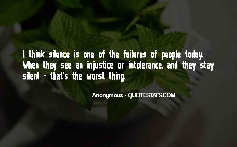 Quotes About Speaking And Silence #1505835
