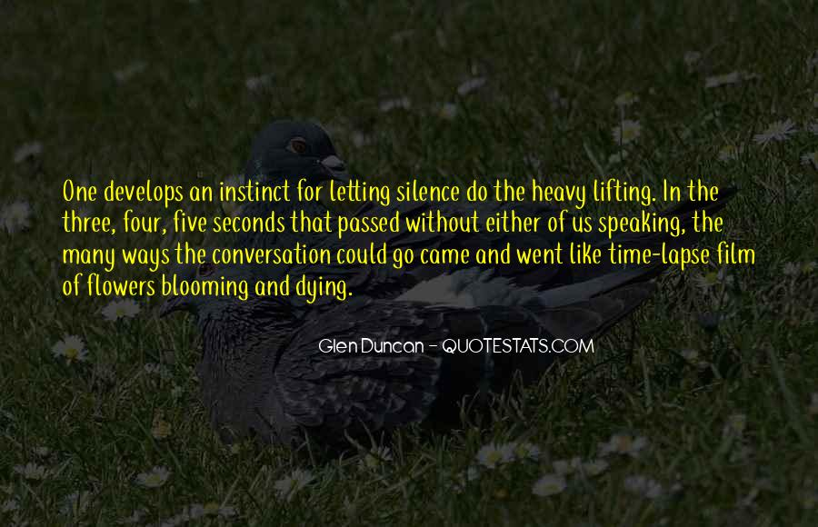 Quotes About Speaking And Silence #421256