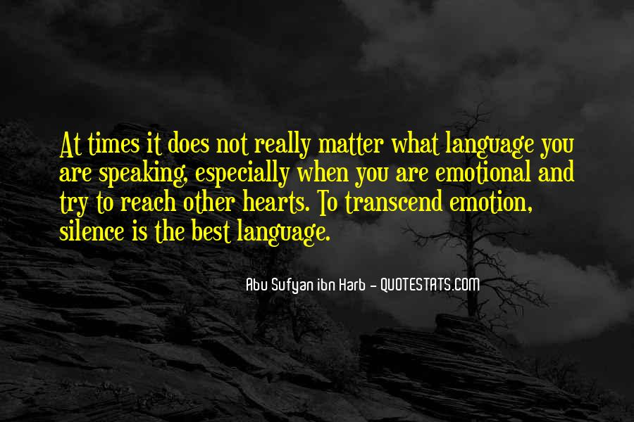 Quotes About Speaking And Silence #451698