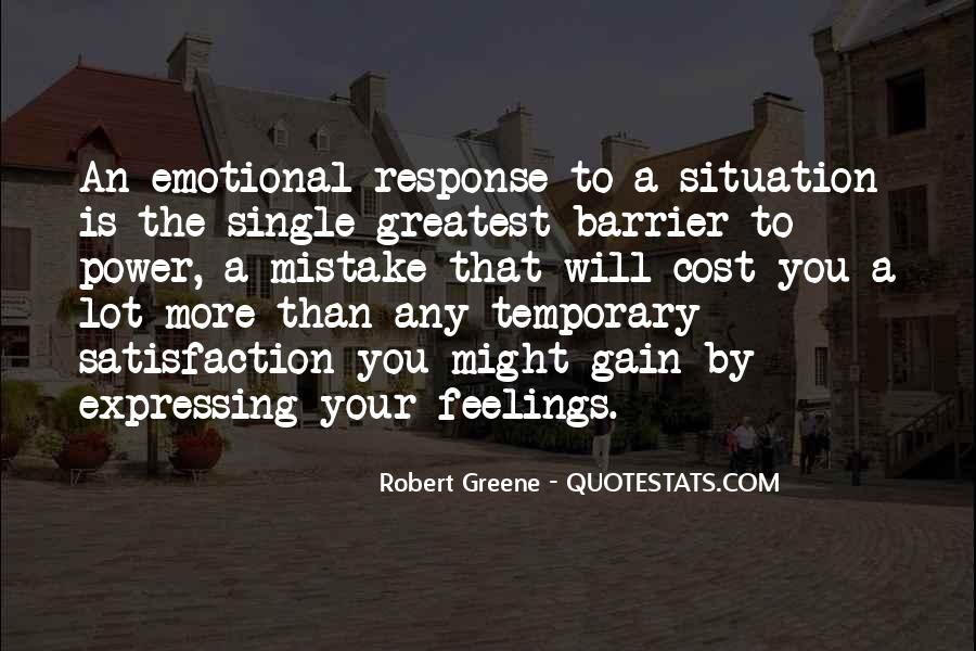 Quotes About Expressing Your Feelings #1041809