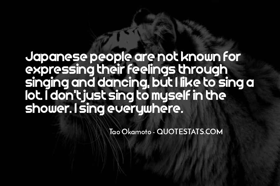 Quotes About Expressing Your Feelings #1106043