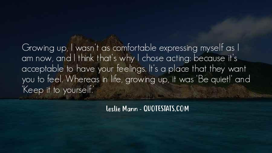 Quotes About Expressing Your Feelings #1667125