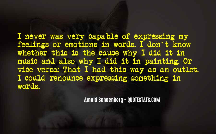 Quotes About Expressing Your Feelings #645940