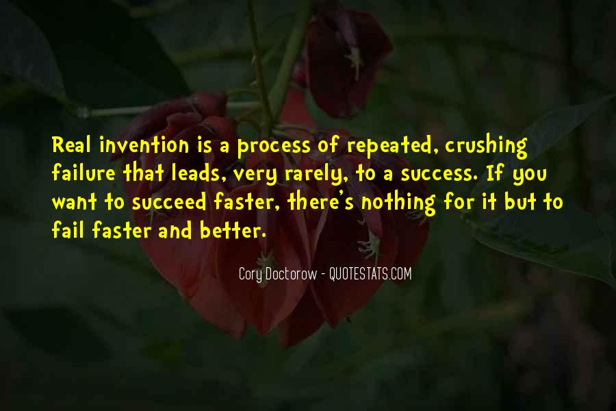 Quotes About How Failure Leads To Success #1123398