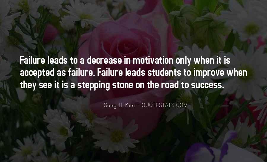 Quotes About How Failure Leads To Success #1208003