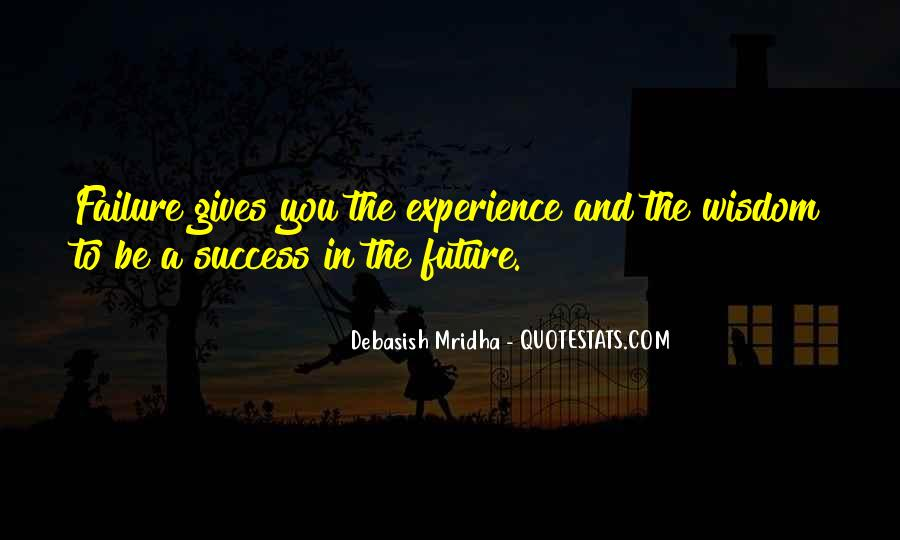Quotes About How Failure Leads To Success #1225682