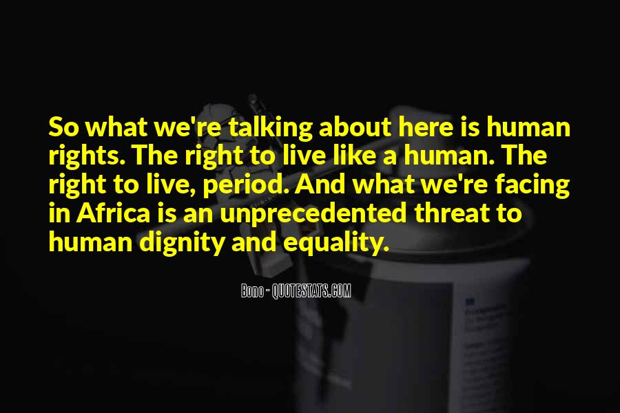 Quotes About The Human Rights #136795