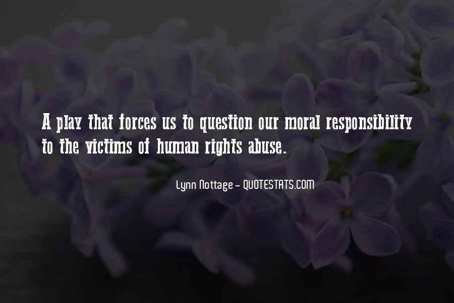 Quotes About The Human Rights #155254