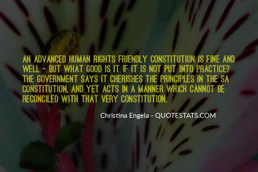 Quotes About The Human Rights #219469