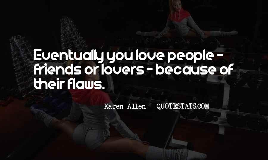 Quotes About Lovers To Friends #138371