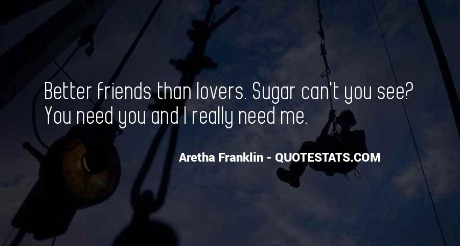 Quotes About Lovers To Friends #767375